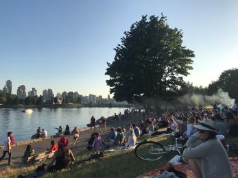 Stanley Park picnic