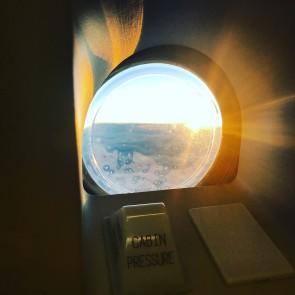 Sunset over Nevada