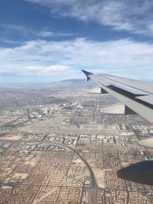Flying into LAS
