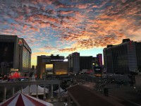 Vegas sunrise