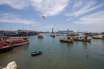 Arica fishing port