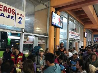 Bus station Arica