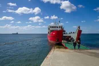 Transfer to Isla Magdalena