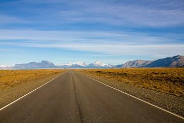 Road from El Chalten