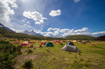 Paine Grande Camping